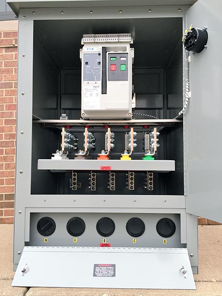 Custom Generator Connection Cabinet