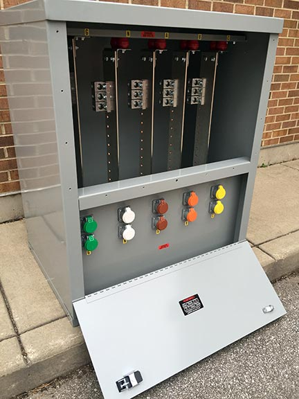 Pad-Mounted Generator Connection Cabinet